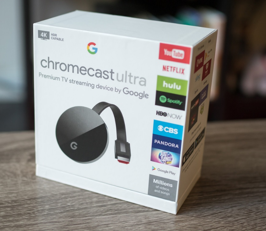 chromecast 4k box