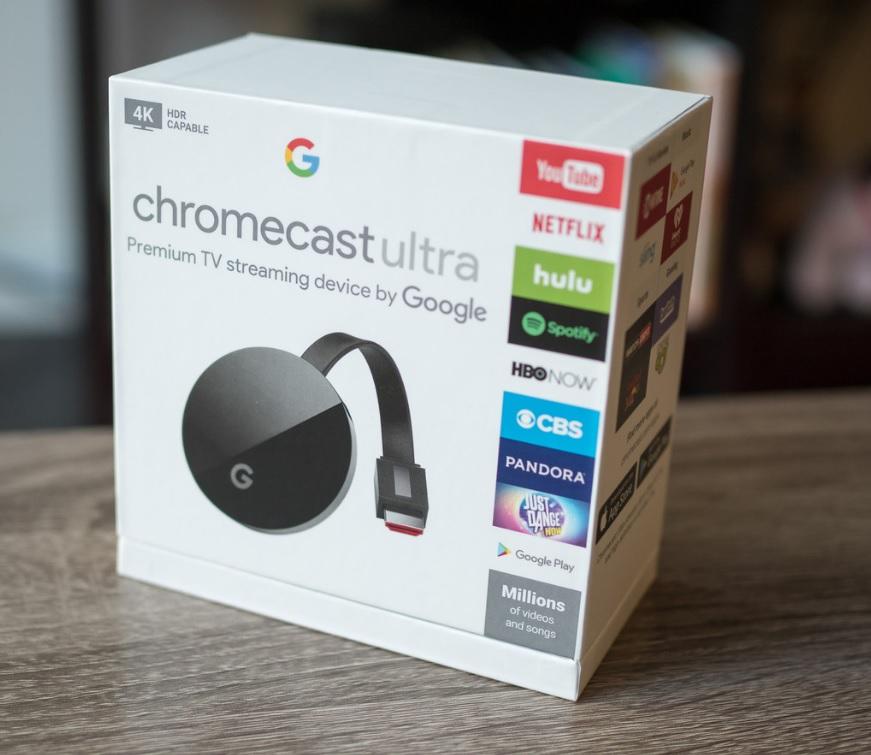 chromecast 4k box