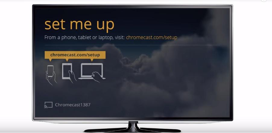 chrome cast app setup