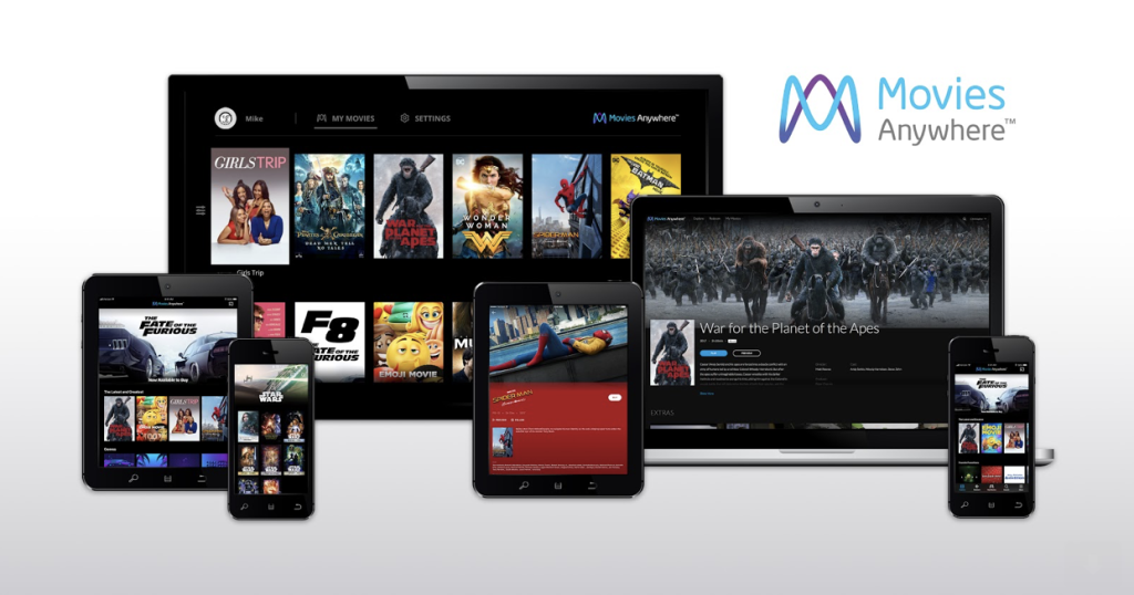 Movies Anywhere chromecast
